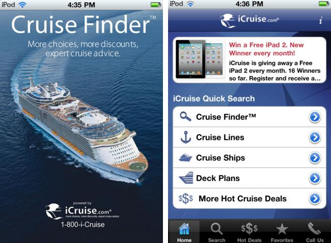 How Mobile Apps Can Help Cruising Companies Sail To Bigger Profits - Cruise ship finder app