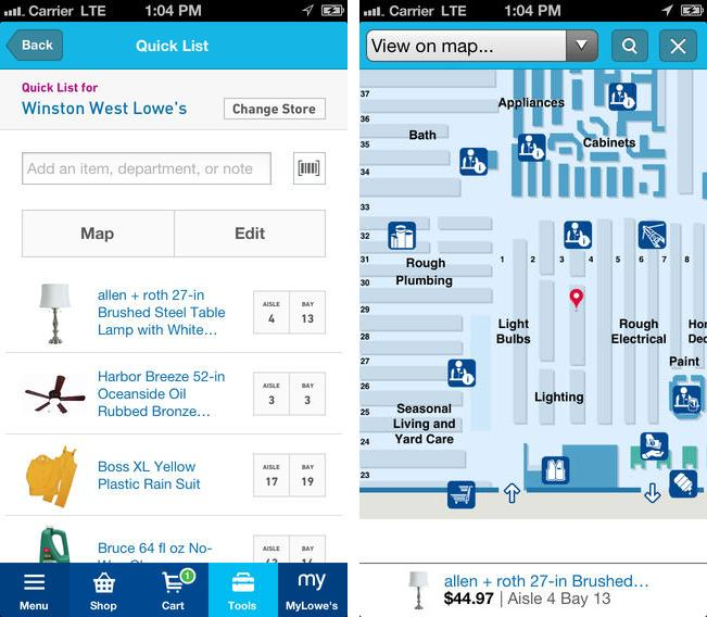 How Lowe's uses mobile apps to increase customer