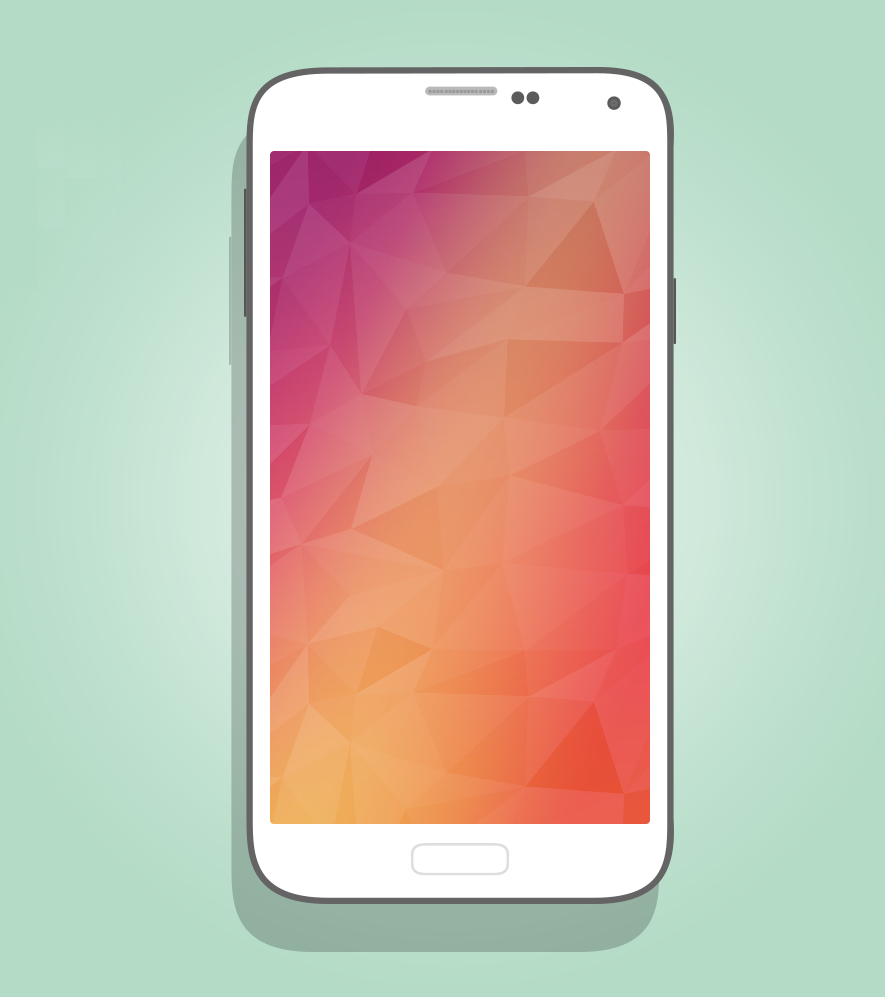 galaxy_s5_mockup_flat - Mockups For Android