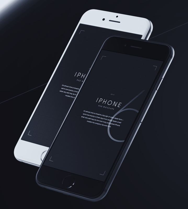 iPhone 6 PSD Mockups on Behance