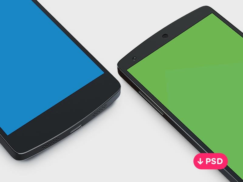 Free Samsung Galaxy S5 Mockup