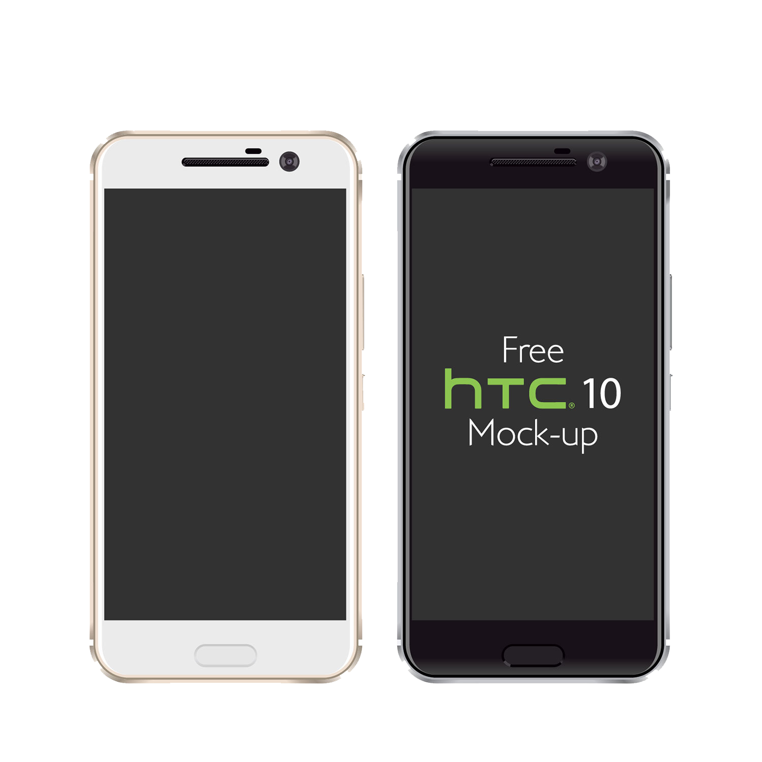 free vector htc 10 mockup ai eps 03 - Mockups For Android