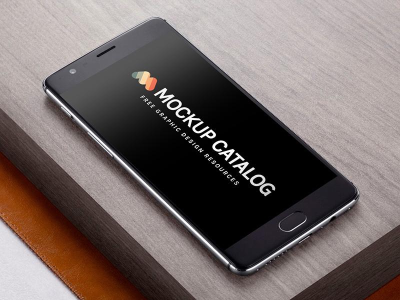 free_realistic_oneplus_3_mockup_-_dribbble_post_-_mockup_catalog