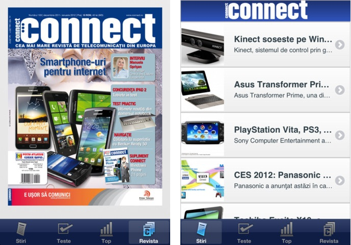connect for iPhone