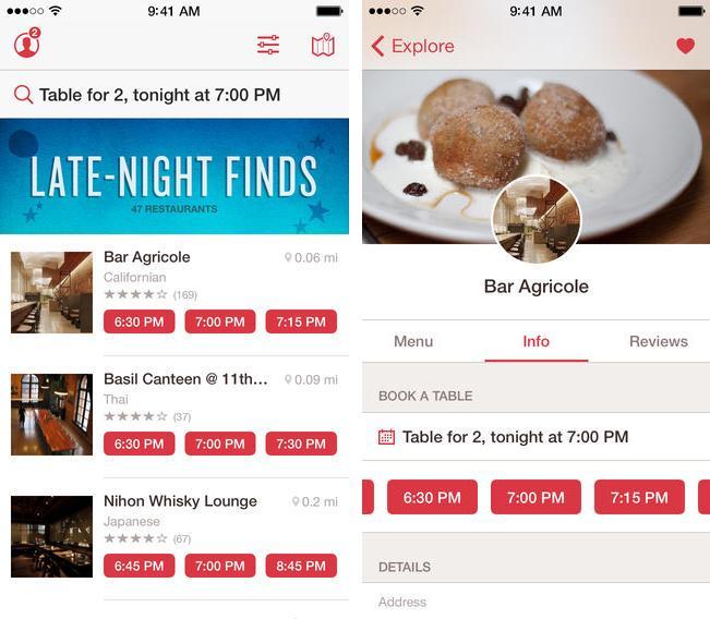 Open-table-iOS7-design