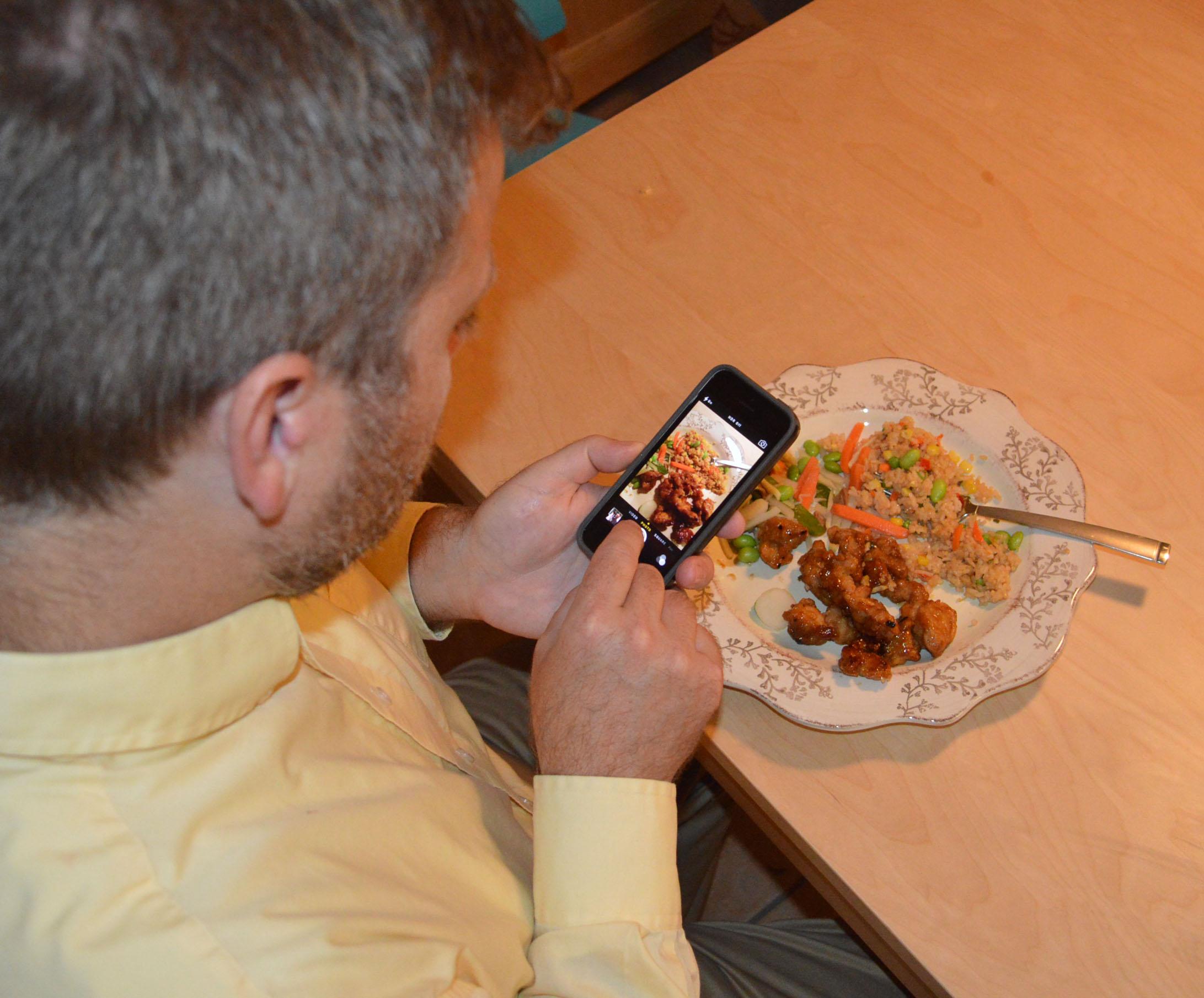 smartphones-food