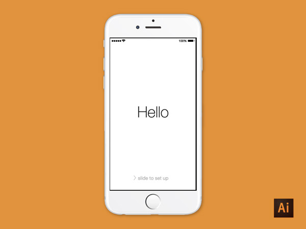 iphone 6 illustrator mockup