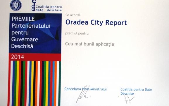 Oradea City Report premiu