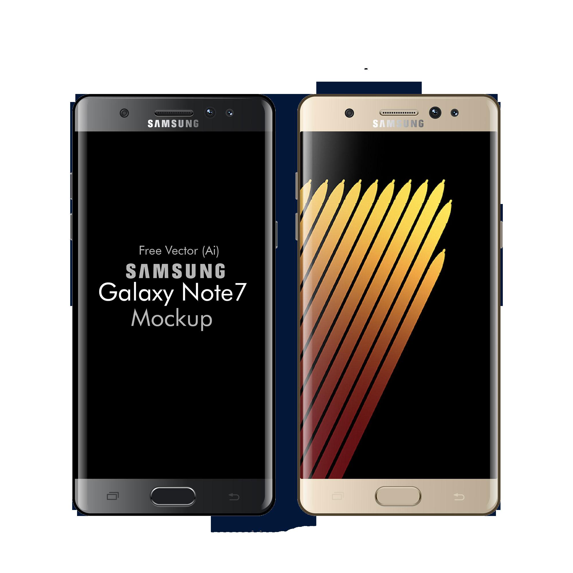 Free-Vector-Samsung-Galaxy-Note-7-Mockup-in-Ai-EPS-01