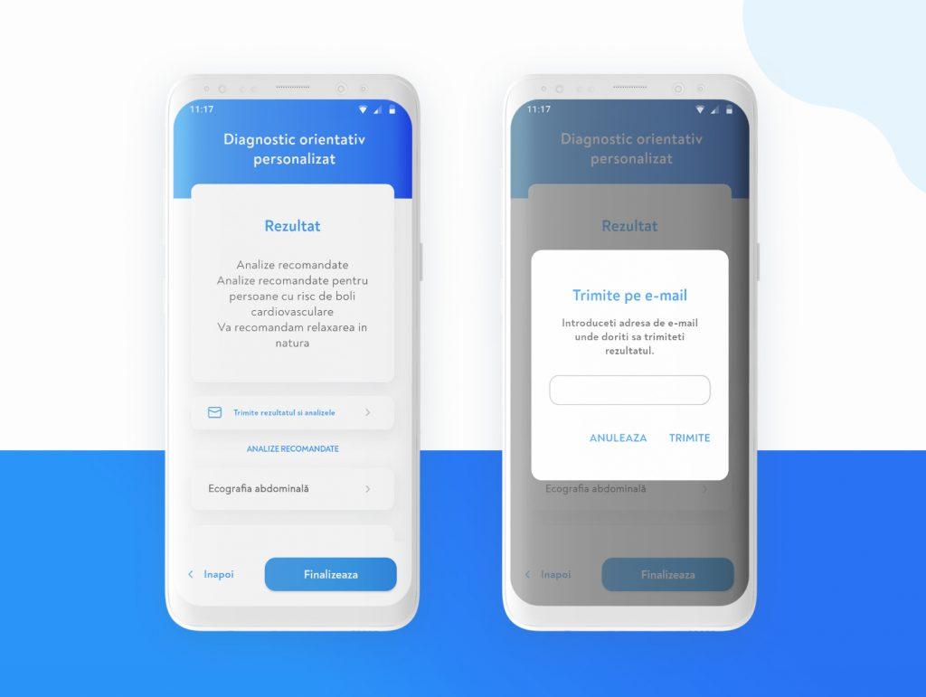 Medical app results