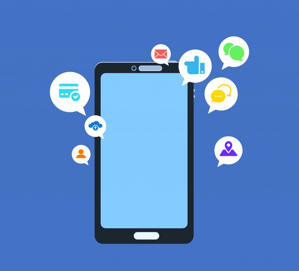 App features illustration