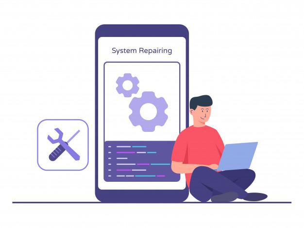 app maintenance illustration
