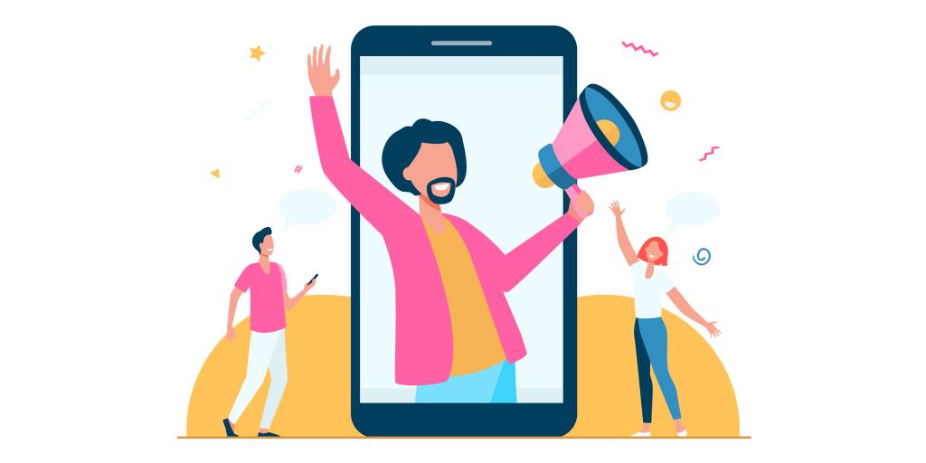 App promotion illustration