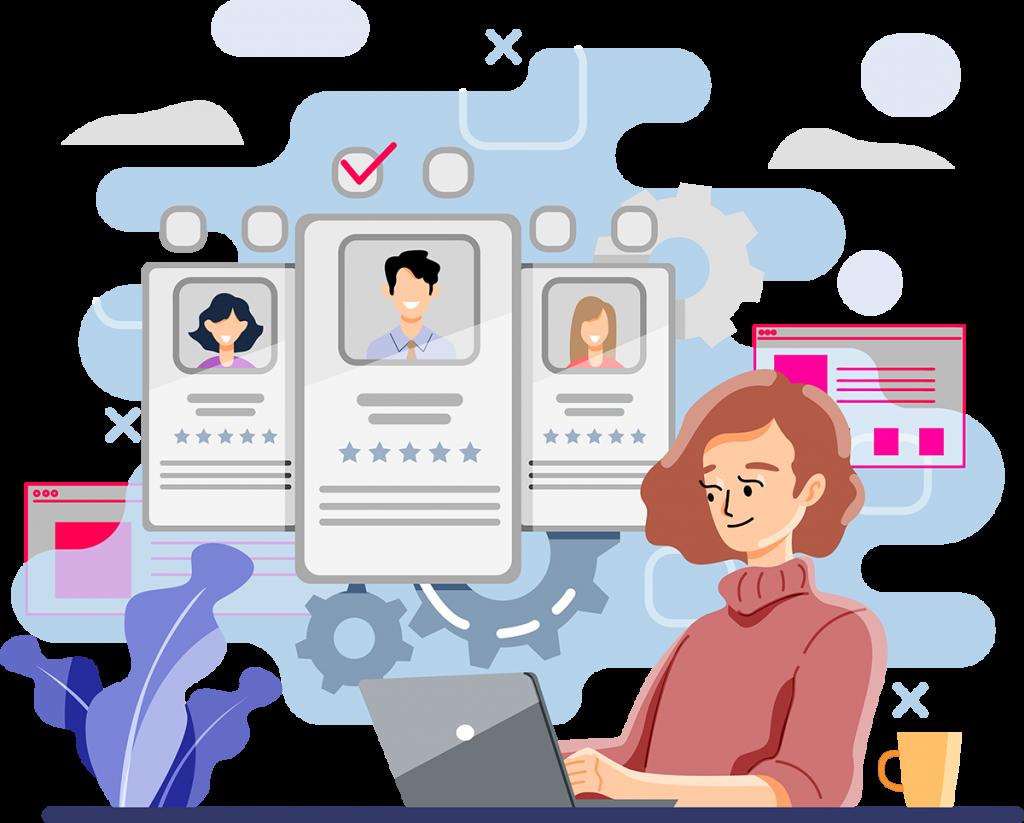 user journey illustration