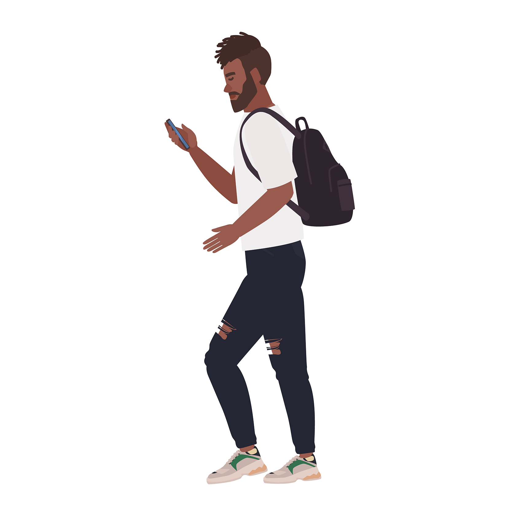 guy with phone