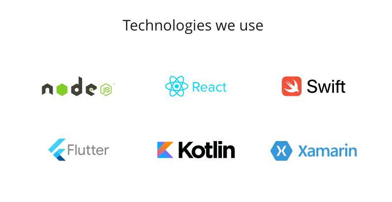 app development technologies
