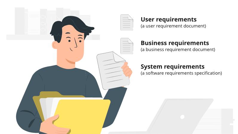 Business, user, System illustration